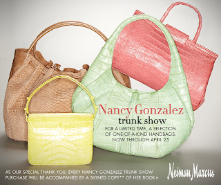 Get Your Limited Edition Nancy Gonzalez bags Now!