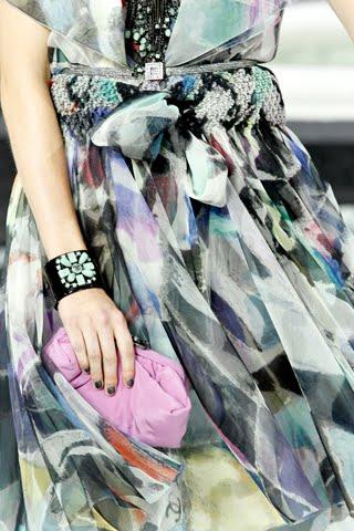 chanel satin clutch. Paris Fashion Week: Chanel