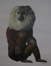 Paradolichopithecus arvernensis by Alexis Vlachos