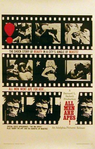 all men are apes, все мужчины обезьяны