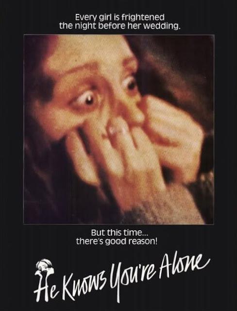 он знает - ты одна, фильм ужасов, постер