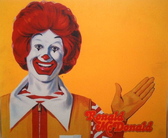 страшный клоун, ужасы, рональд макдональд, макдональдс, макдак, вот что я люблю