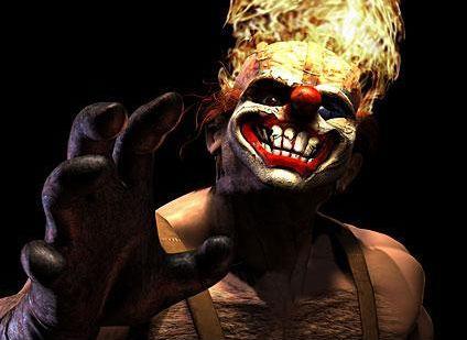 страшный клоун, ужасы, сладкий зуб