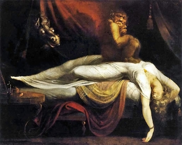 ночной кошмар, джон генри фузели, картина, полотно, репродукция