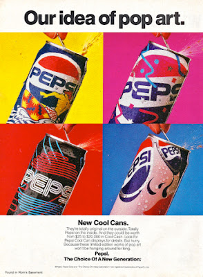 пепси, уорхол, реклама, поп-арт