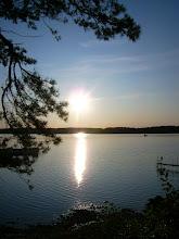 Solnedgång vid Hällebäck