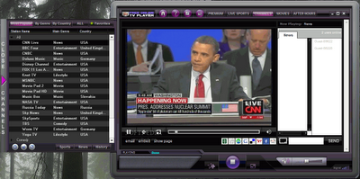 Free online TV player software