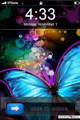 iPhone 3Gs Butterflie Theme