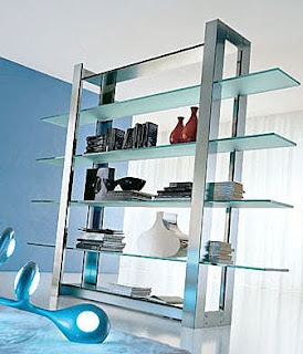 Glass Steel Shelves