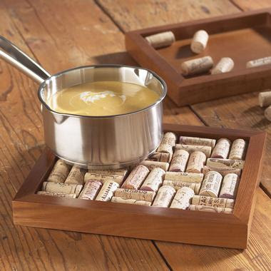 Urban farmhouse projects for wine bottle corks for Wine cork ideas projects