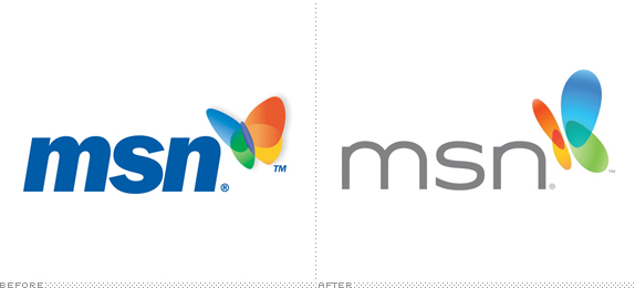 Msn logo is linked to my earliest memories as it was associated with the