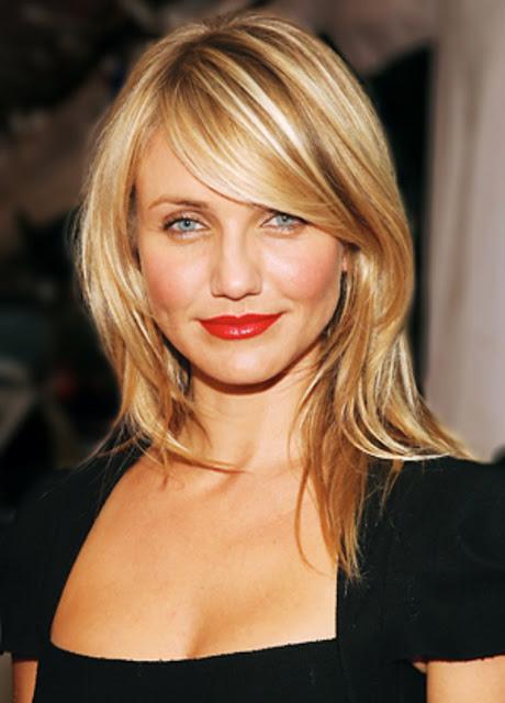 long blonde hair style