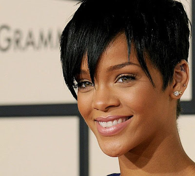 Rihanna Short Trendy Hairstyles