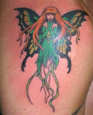 Tinkerbell Simple Tattoo