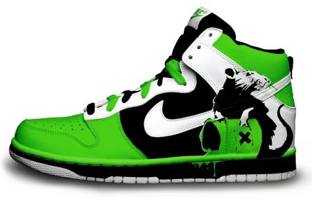 Nike shoes design rat