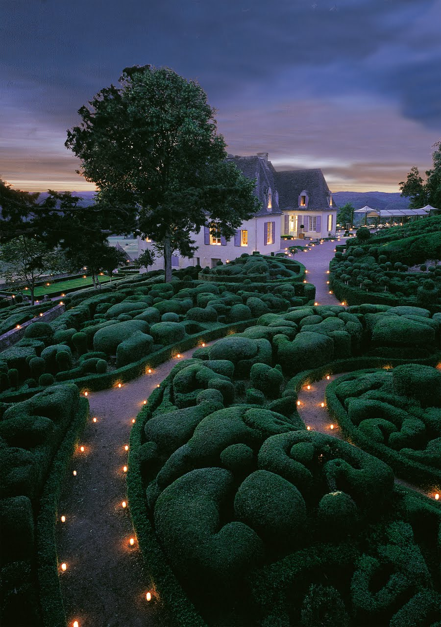 Oh by the way the gardens of marqueyssac for France jardin
