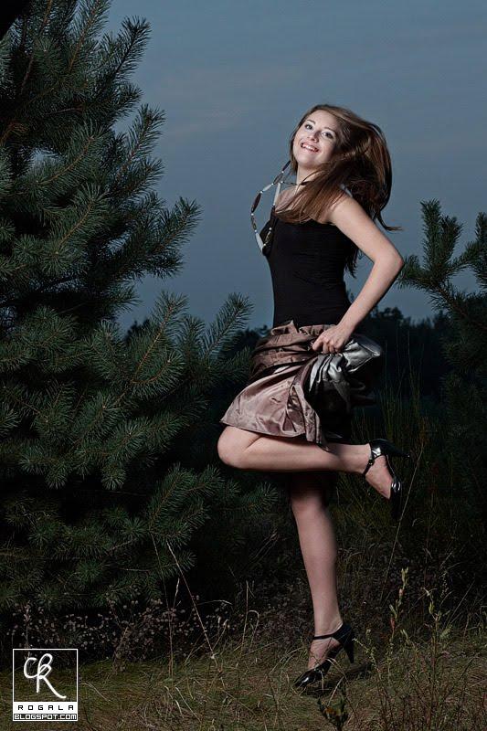 Sesja plenerowa, modelka Białystok