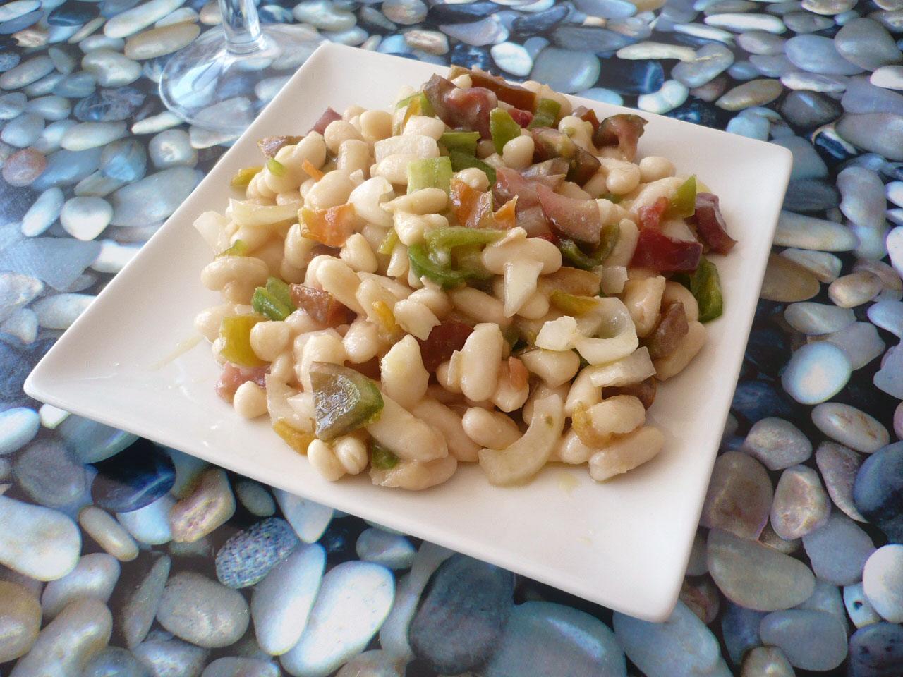 Cocinerando ensalada de alubias blancas - Ensalada de alubias ...