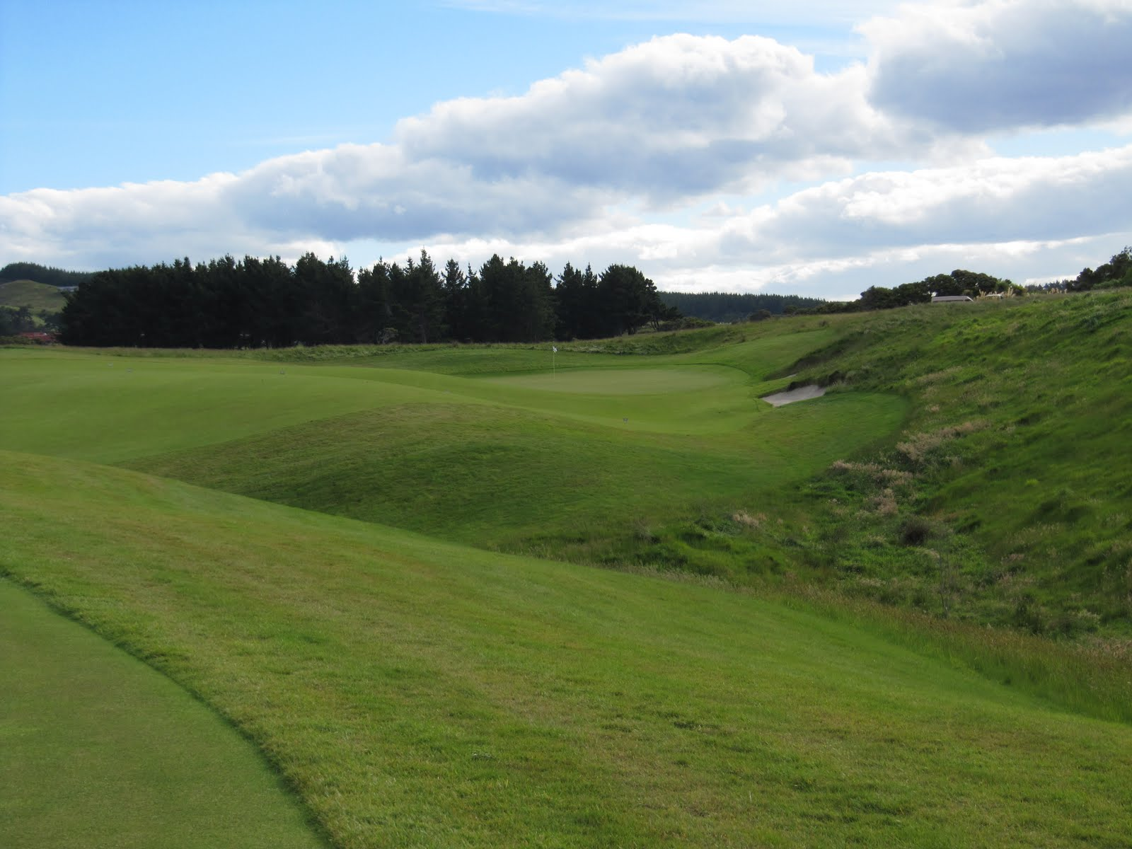 A golf course design blog cape kidnappers hawkes bay for Landscaping courses nz