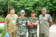 Bertugas di Timor Leste