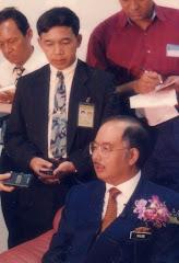 RAR and Tun Razak's son