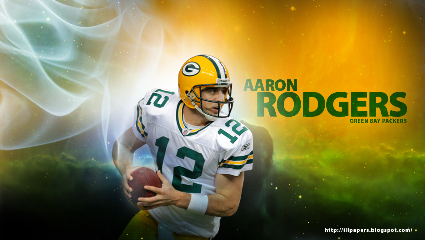 Illpapers sports highlights news videos wallpapers backgrounds aaron rodgers wallpaper green bay packers voltagebd Image collections