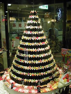 árvore de temaki