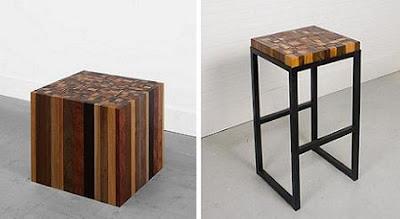 móveis reciclados antes e depois
