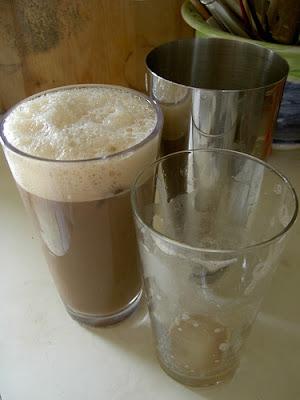 Milk shake de café