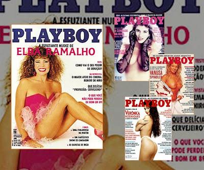 Capa da Revista Playboy deste mês