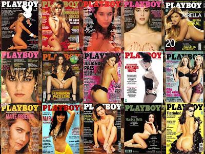 mulheres peladas na Playboy