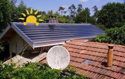 La maison en juin : Vues sur les toits