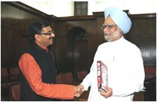 Tarun Vijay meets Prime Minister