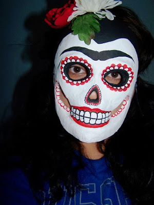 day of the dead masks template. Day of the Dead masks.