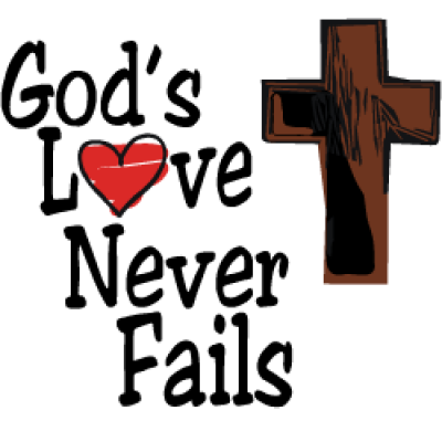 love never fails jesus