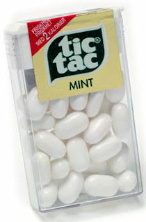 A PAcket of Mint Tic Tacs