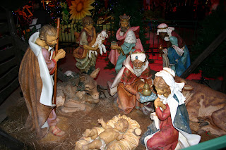 The Nativity scene at the Shopping Centre