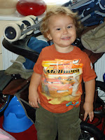 Big Boy on 1st Day at School 2010