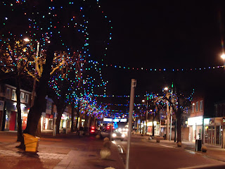 Christmas Lights in the High Street