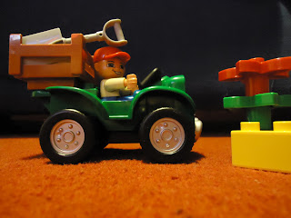 Lego Duplo Farm Bike