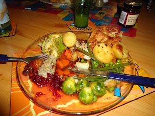 A Christmas Dinner - What would you do with the Leftovers?