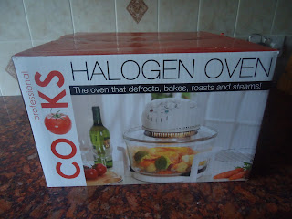 The boxed Halogen Oven