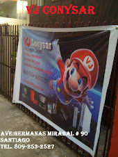 "TIENDA DE VIDEOJUEGOS ""&#39; VJ CONYSAR"