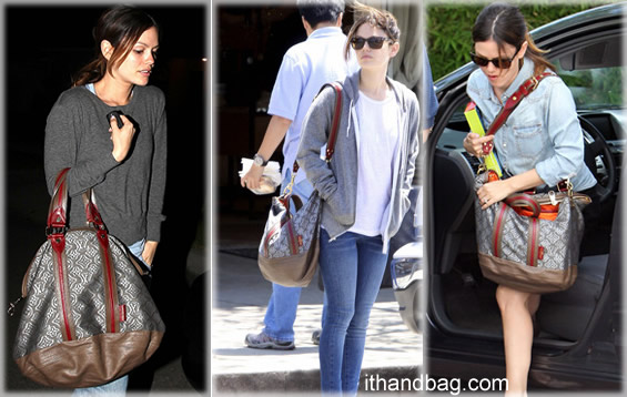 Rachel Bilson and her Gray LV