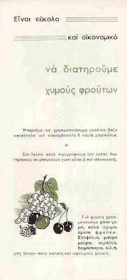 Διατήρηση χυμών φρούτων