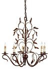 Bronze Leaf Chandelier! Best Seller!