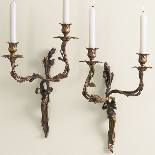 The Designer Insider: Candle Wall Sconces!