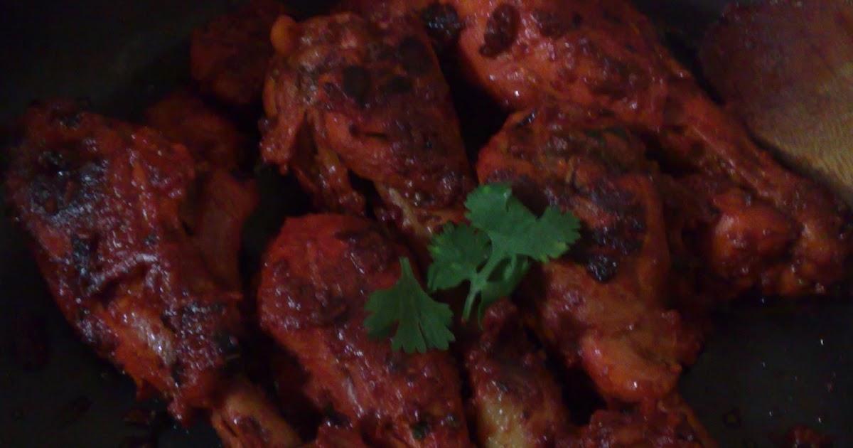Hyderabadi Cuisine: Spicy Dry Red Chicken