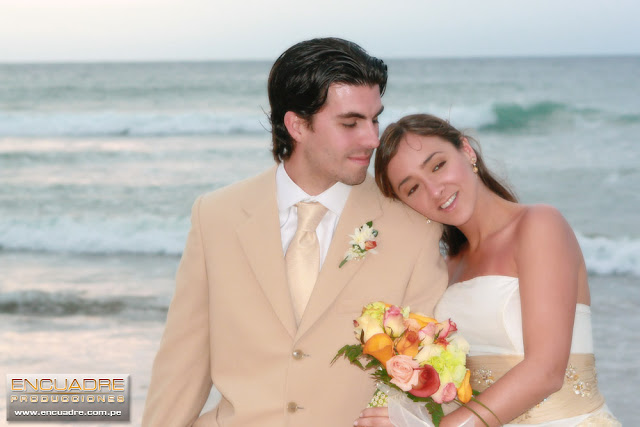 mancora playa foto boda