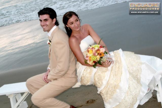 foto boda playa mancora